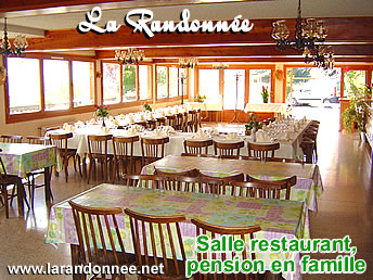 pension, restaurant